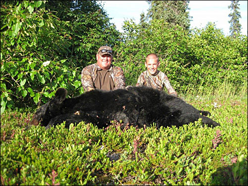 Unguided Alaska Bear Hunt